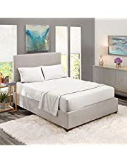 Fitted bed sheet set, 180x200cm, Ivory