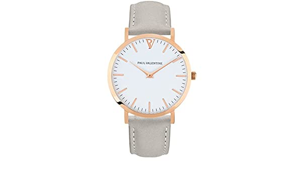 Paul Valentine/Marina Reloj con correa gris: PAUL VALENTINE: Amazon.es: Relojes