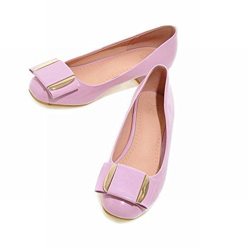 Latasa Scarpe Da Sera Tacco Grosso Pumps Light Purple