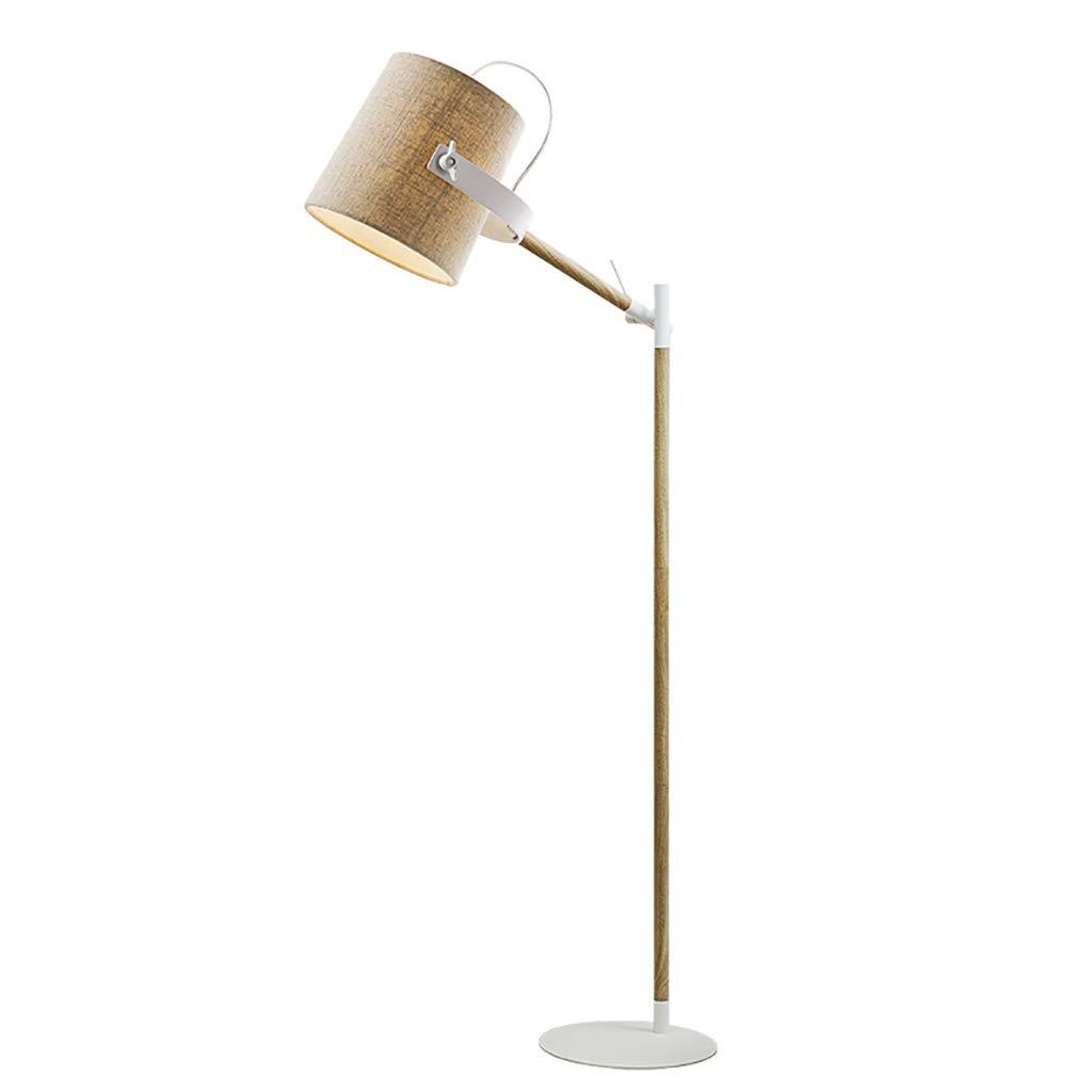 フロアランプリビングルームの寝室現代の研究は、テーブルランプの高さを調節する垂直LED省エネランプ鍛造鉄シャーシは厚く、耐久性があります B07KKCR1WV
