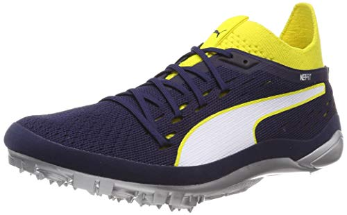 peacoat White puma Puma 2 Yellow Evospeed Atletismo Sprint blazing Zapatillas De Unisex Netfit Adulto Amarillo wwR7fC