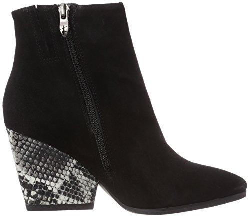 Tamaris 25300 - botas de caño bajo de cuero mujer negro - negro