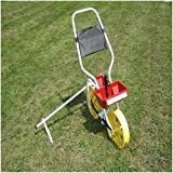 Vegetable Garden Row Seeder in Red