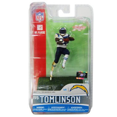 McFarlane Toys NFL 3 Inch Sports Picks Series 5 Mini Action Figure LaDainian Tomlinson 2 (San Diego Chargers) Mcfarlane Nfl Picks