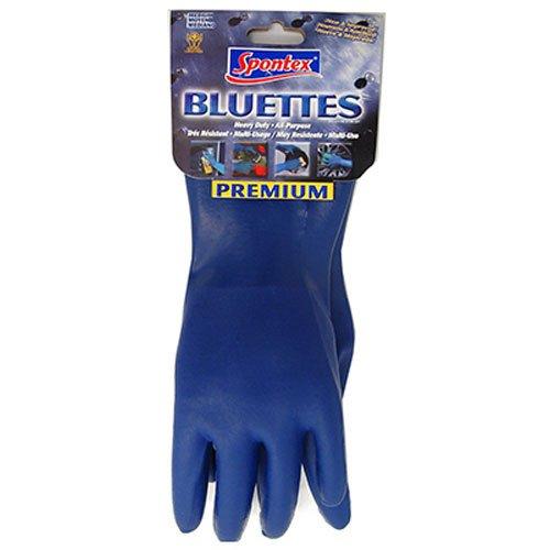 Bluettes Gloves, Medium Size - Spontex Bluette Gloves