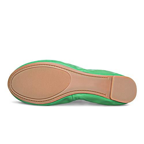 Espejo Ante Ballet Xielong De Mujer Verde IRYwgx