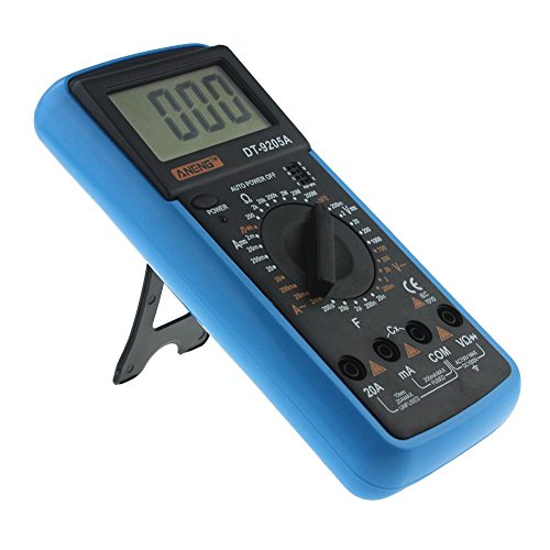 Digital Multimeter DT-9205A AC DC LCD Display Professional Electric Handheld Tester Meter Multimetro Ammeter Multitester by UEB (Image #7)