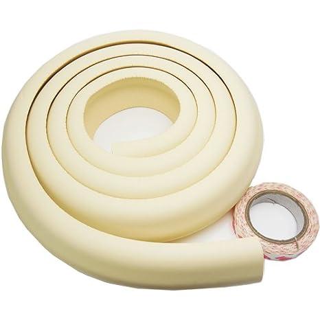 cubre esquinas y bordes de muebles AKORD/® a prueba de beb/és Protecci/ón de borde de seguridad para ni/ños beb/és ni/ños y ni/ños crema