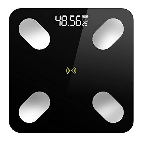 Báscula De Baño Digital Bluetooth Escala Electrónica Electrónica Máquina Automática De Conmutación Carga USB 180 Kg...