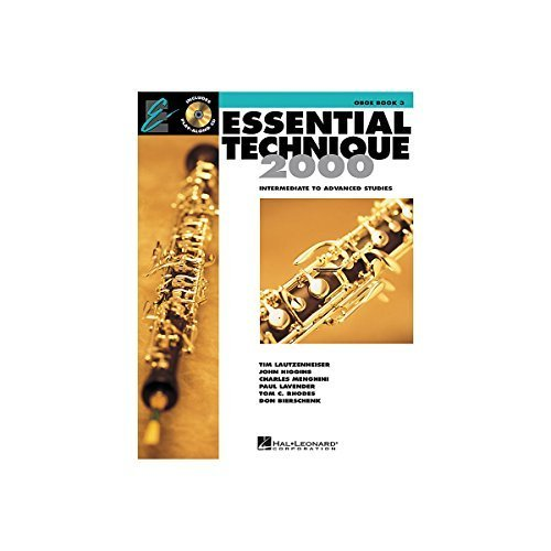 Hal Leonard Essential Technique for Band - Oboe (Book 3 with - Oboe Essential Elements