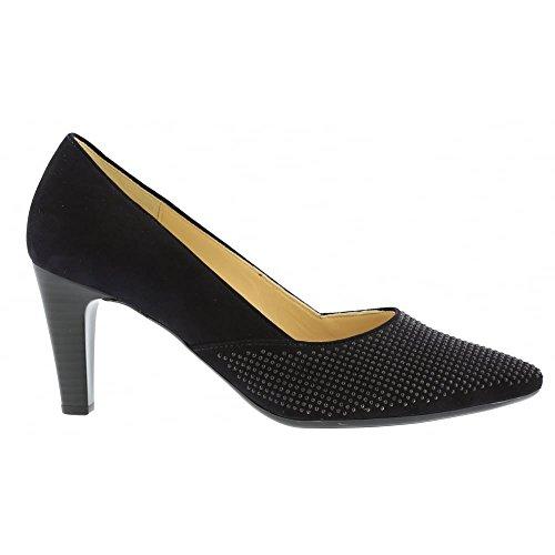 Gabor Shoes Gabor Basic, Zapatos de Tacón para Mujer Azul (16 Pazifik)