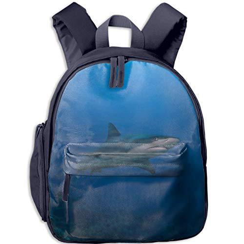 School Backpack Classic Travel Laptop Happy Shark Backpack Rucksack Middle School Bookbag