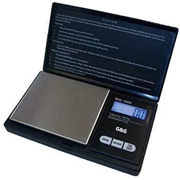 G & G MS B 1000 g/0. 1 g 규모 디지털 규모 포켓 규모 동전 규모 규모