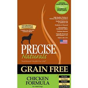 Precise Naturals Grain-Free Chicken Formula Adult Dry Dog Food, 5-lb bag For Sale