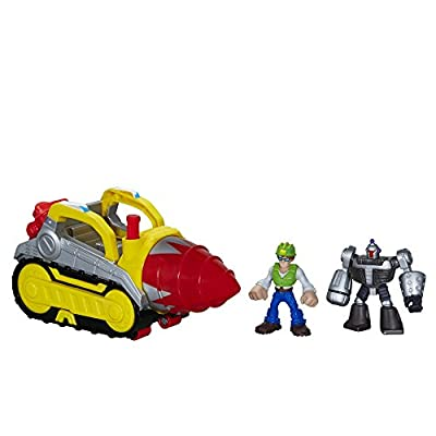 Playskool Heroes Transformers Rescue Bots Tunnel Rescue Drill Set