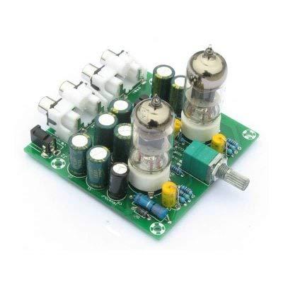 RanDal Amplificador De Preamplificador De Tubo 6J1 Preamplificador De Auriculares Amplificador De Válvula 6J1 Producto Terminado De Búfer De Bilis - Azul: ...