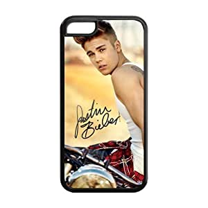 Custom Justin Bieber Back Cover Case for ipod touch 5 ipod touch 5 LLCC-1843