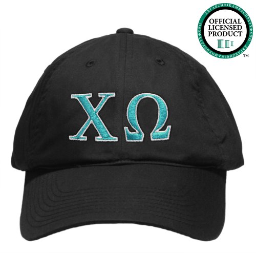 Chi Omega (Chi O) Embroidered Nike Golf Hat, Various Colors