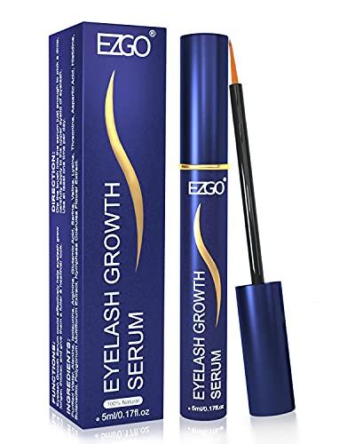 EZGO Eyelash Growth Serum and Eyebrow Enhancer, Natural Rapid Lash Boost Serum to Growth Longer, Thicker, Fuller…