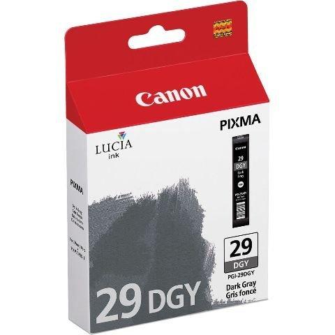 Canon LUCIA PGI-29 Dark Gray Individual Ink Tank Ink