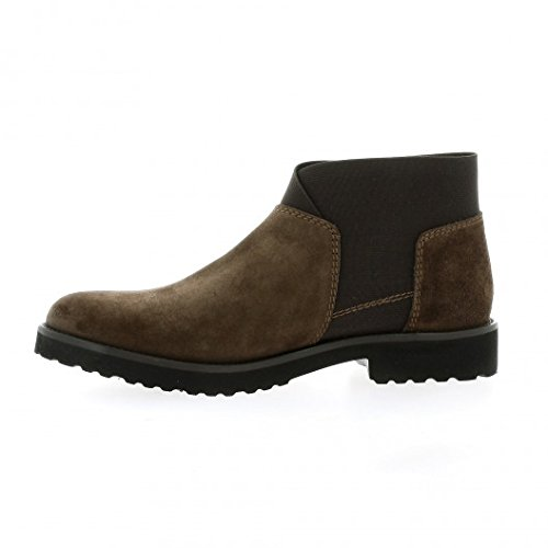Cuir Marron Boots Pao Velours Marron gqPwv80