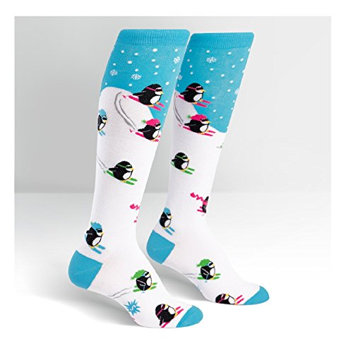 Sock It To Me, Knee High Funky: Downhill Penguins