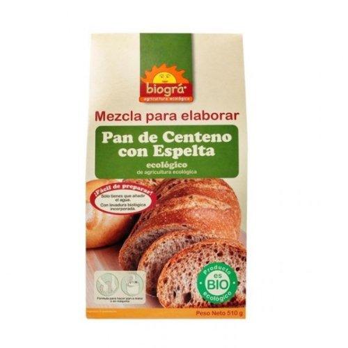 MEZCLA PAN CENTENO ESPELTA BIO: Amazon.es: Salud y cuidado ...