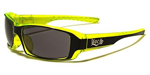 Locs Two Tone Original Gangsta Shades Fashion Statement Translucent Frame - Sunglasses Cheap Custom