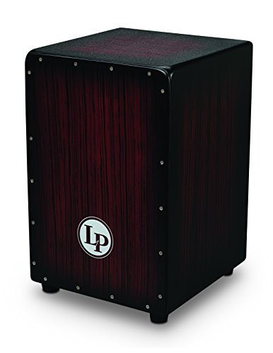 LP Aspire Accents Wire Cajon Dark Wood Streak LPA1332-DWS
