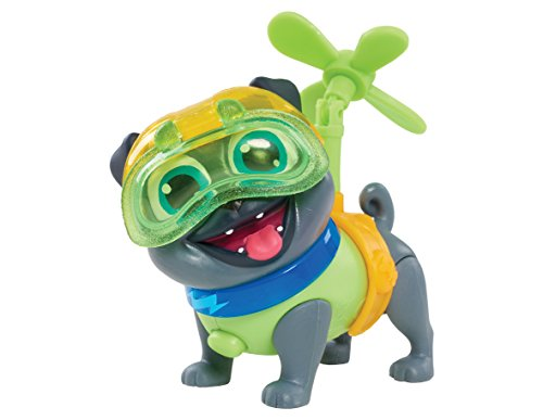 Puppy Dog Pals Light Mission-Bingo with Helicopter and Helmet, Multicolor - Jet Powered Glider