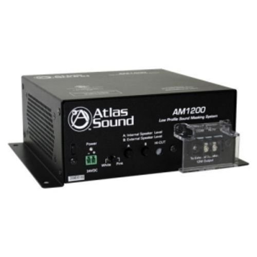 Atlas Sound AM1200 Low Profile Sound Masking System UL2043 by Atlas Sound