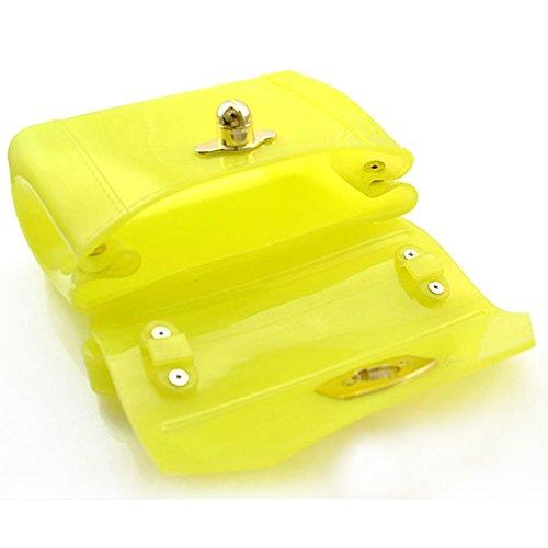 NK store Frauen's koreanische elegante mini Süßigkeiten Tasche, multifuctional Stil ,gelb