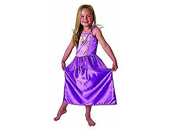 Princesas Disney - Disfraz de Rapunzel lila para niña, infantil 7 ...