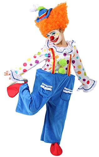 Krusty The Clown Costumes - Princess Paradise Colorful Circus Clown Child's