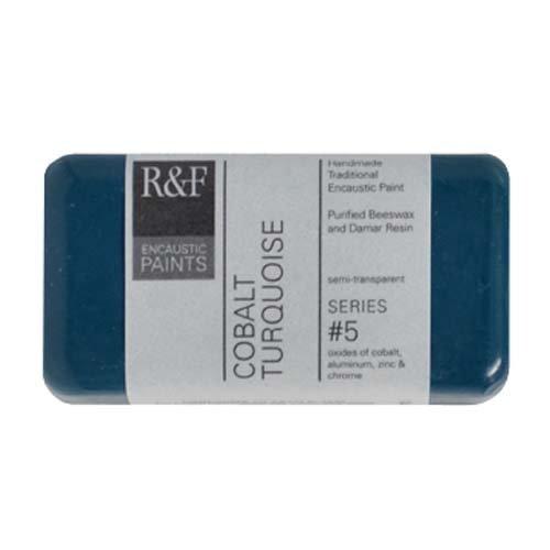 (R&F Encaustic 40ml Paint, Cobalt Turquoise)