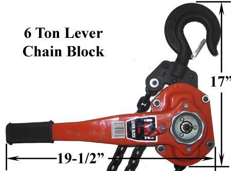 6 Ton Lever Hoist - 9