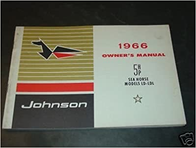 johnson outboard motor owners manual