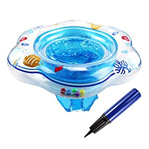 Flotador inflable para bebé con asiento, ideal para nadar en la ...