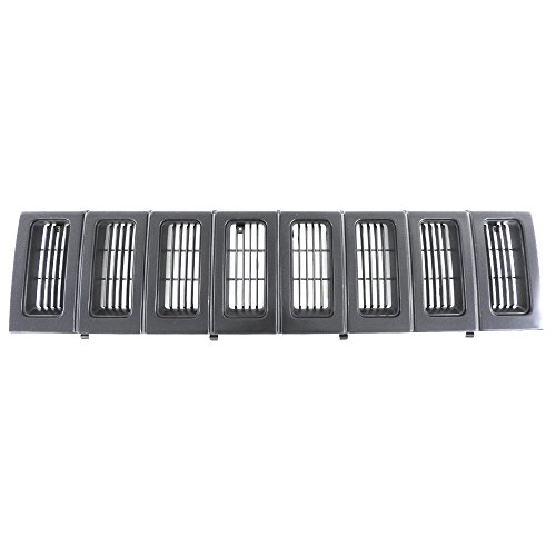 Titanium Plus 1993-1995 Jeep Grand Cherokee Front GRILLE ()