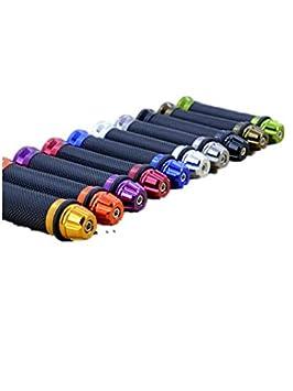 Wooya Motorradteile Modifiziert Handle Gummi Motorrad Handle Qualit/ät Gummi-Harley-Handle-Cover-Blau