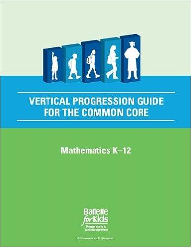 Amazon.com: Vertical Progression Guide for the Common Core ...