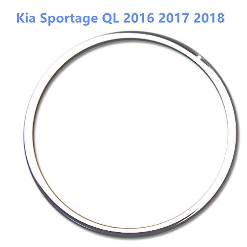 HIGH FLYING f/ür K Sportage QL 2016 2017 2018 Interieur Lenkrad Interieurleisten 1 St/ück Edelstahl verchromt