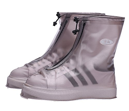 protezione ciclisti protezione scarpe antiscivolo da scarpe pioggia uomo donna Neutral antipioggia marrone protezione CCZZ per copriscarpe scarpe per impermeabile Zf6T7wq