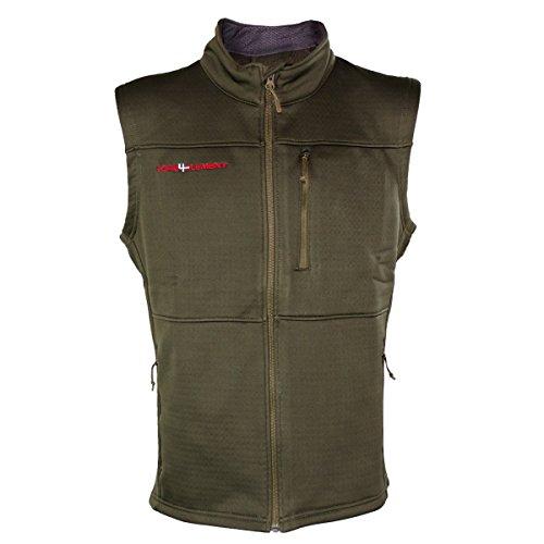 Core4Element Easton Fleece Selway Sage Vest (XL)