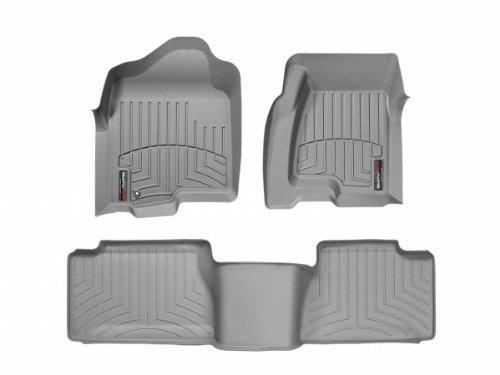 - WeatherTech (46003-1-4 FloorLiner, Front/Rear, Gray