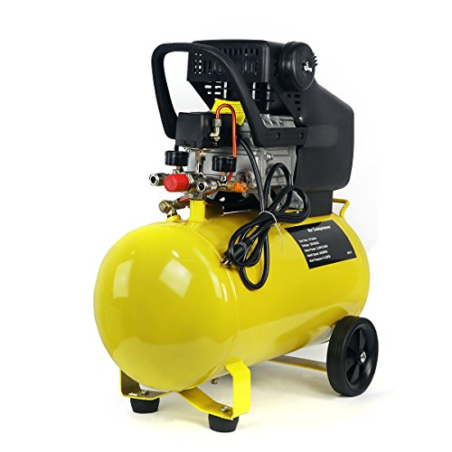 - 3.5HP 10-Gallon Pneumatic Portable Air Compressor With Tank