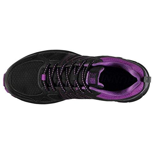 Shoes Running Caracal Purple Waterproof Womens Black Sneakers Trail Karrimor nZpgUqU