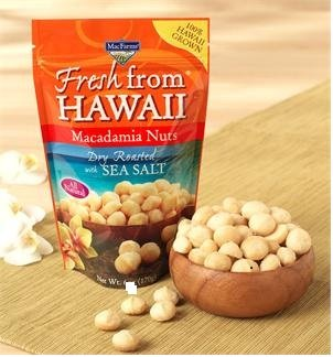 MacFarms Dry Roasted Macadamia Nuts with Sea Salt, Fresh from Hawaii 24 - Outlet Hawaii Premium
