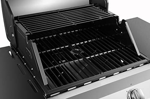 natural gas grill side burner