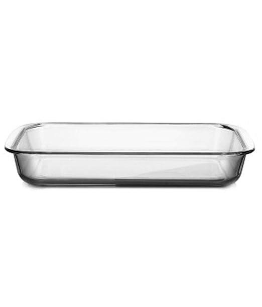 Plato de pescado de vidrio Bandeja de horno resistente al calor ...